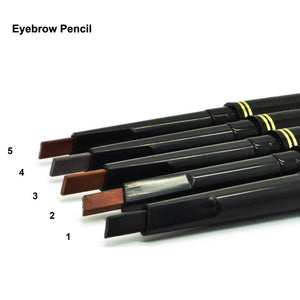 1 pcs Waterproof Longlasting Make up Black Brown Eyebrow Pencil Eye Brow Liner Makeup Make Up Tools 5 Colors