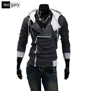 10 Colors New Men Hoodies Sweatshirts Casual Male Zipper Hoodies Slim Fit Men Hooded Jacket Size M-5XL