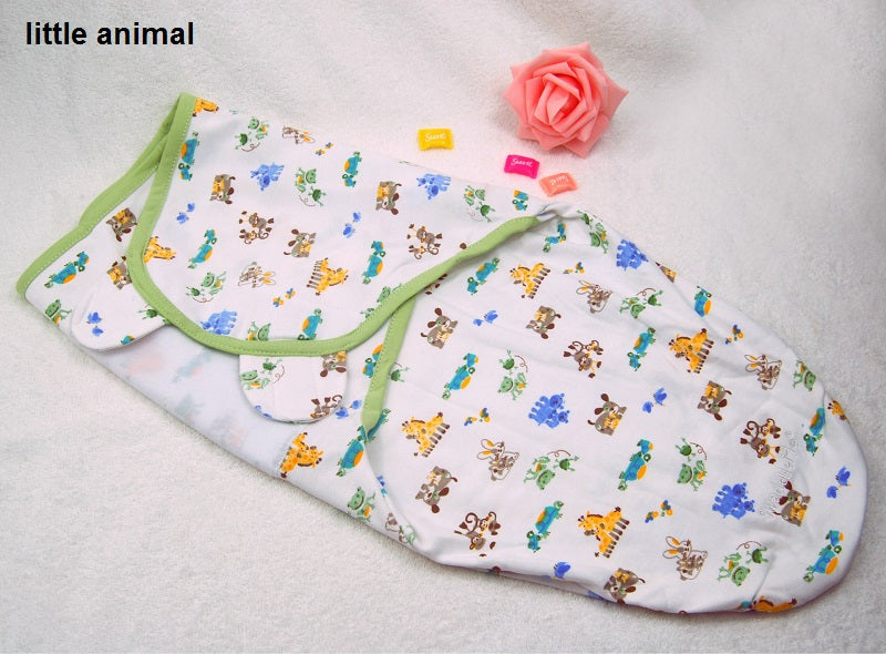 100% Cotton Baby Swaddle Wrap Blanket Newborn Infants Baby Envelop Sleep Bag Sleepsack Mantas Para Bebe KF040S