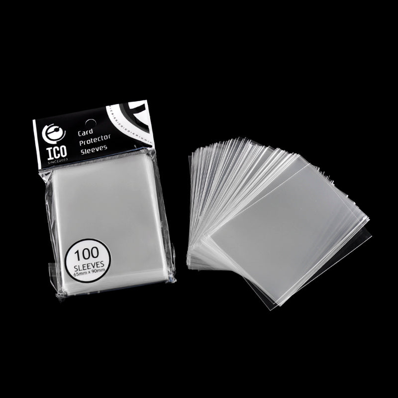 100Pcs/Pack 65*90 MM Card Protector Sleeves Magic Killers Of Three Kingdom Football The Gathering Board Game Transparent Cards