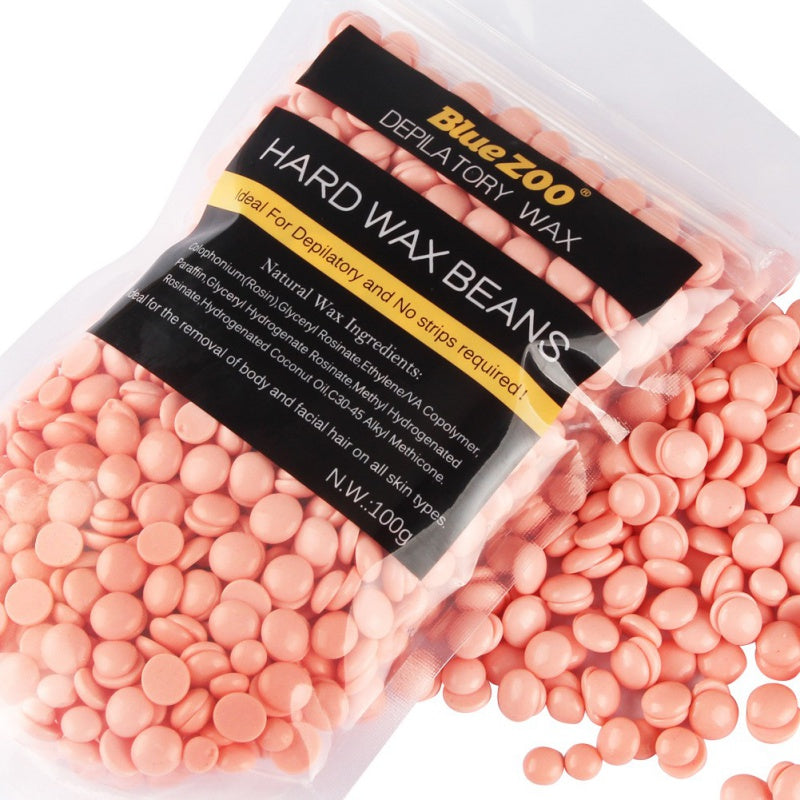 100g No Strip Depilatory Hot Film Hard Wax Pellet Waxing Bikini Hair Removal Lavender Beans CL1