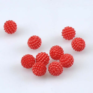 100pcs about 10mm Blend Color Imitation Pearl Beads Round Beads Fit Europe Beads Jewelry making YKL0393X