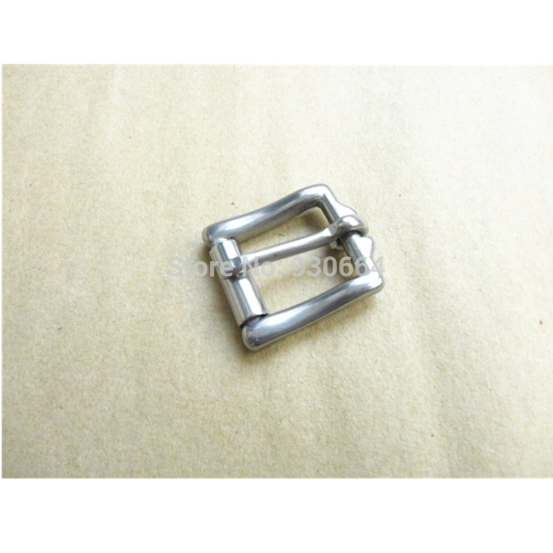 10PCS / Lot 20mm Stainless Steel Belt Buckle With Roller Buckle For Shoes Bag Clothes W015 - Cerkos.com