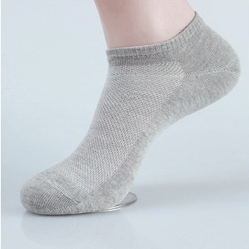 10Pairs 3D Men Socks Invisible Men's Ankle Socks No Show Boat Socks Slippers Shallow Mouth Male Socks Short Men Meias Sokken - Cerkos.com