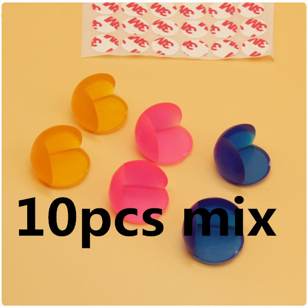 10Pcs Child Baby Safety Silicone Protector Table Corner Edge Protection Cover Children Anticollision Edge & Corner Guards