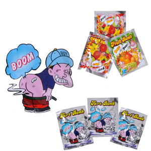 10pcs Funny Fart Bomb Bags Stink Bomb Smelly Funny Gags Practical Jokes Fool Toy BM88