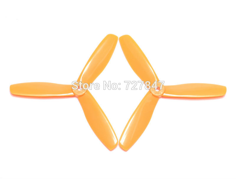12 Pairs 5045 3 blades Bullnose Propeller CW /CCW for 250 FPV Racing Quadcopter ZMR210 250