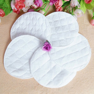 12pcs/Set Women Mom New Fashion Reusable Nursing Breast Pads Washable Soft Absorbent Baby Breastfeeding Accessory - Cerkos.com