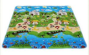150*180cm Baby Toys Foam Vhildren's Play Mat Floor Kids Rug Carpet for Children Letter Animal Paradise Safety Kids Climb Blanket