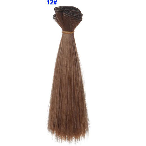 15cm thick bjd wigs doll hair for barbie doll for monster high doll for blythe doll wigs