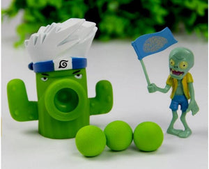 19 Style New Popular Game PVZ Plants vs Zombies Peashooter PVC Action Figure Model Toys 10CM Plants Vs Zombies Toys