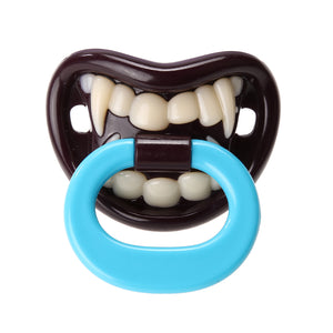 1PCS Silicone Funny Baby Pacifier Dummy Nipple Teethers Toddler Pacy Orthodontic Teat Infant Baby Christmas Gift