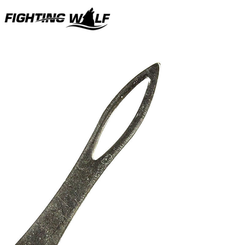 1PCS Slingshot Rubber Band Tied Assistant Accessory Stainless Steel Durable Tactical Hunting Shooting Catapult Helper Tools