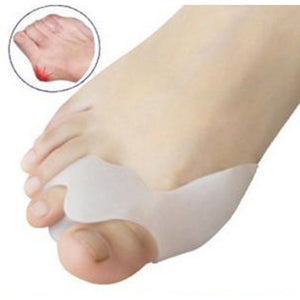 1Pair Silica Gel Bone Thumb Orthotics Beetle-crusher Corrector Toe Separators Outer Appliance Health Care Hallux Valgus Adjuster