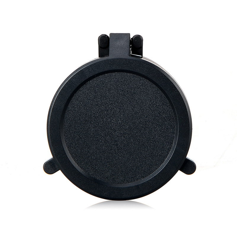 1Pc 45-64mm Hunting Gun Caliber Rifle Scope Mount Quick Flip Spring Up Open Lens Cover Cap Eye Protect Objective Cap