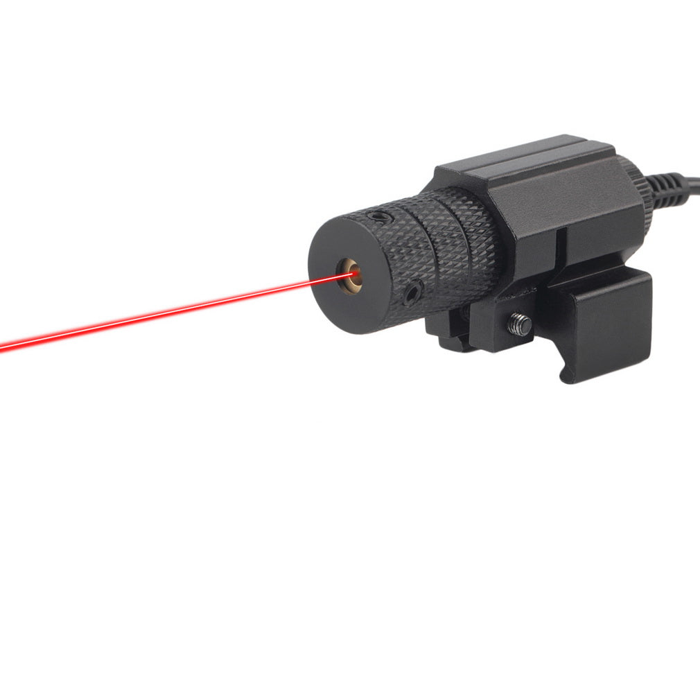 1Set Tactical red dot Mini Red Laser Sight With Tail Switch Scope Pistol with Lengthen Rat Tail Hunting Optics new arrival