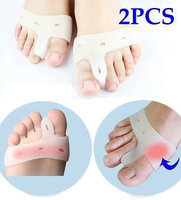 Cerkos Gel Toe Separators Straightener Metatarsal Pad Feet Care - Cerkos  - 1
