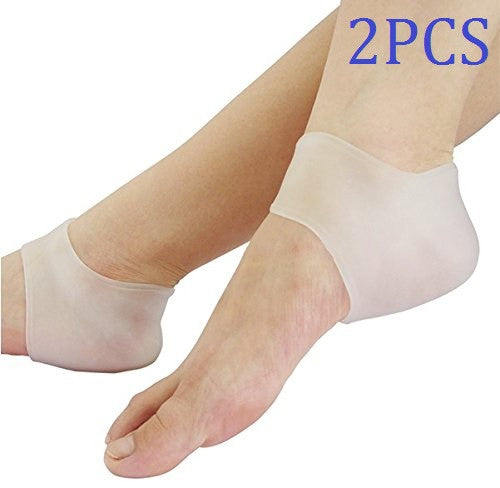 Cerkos Gel Heel Protector Glove Cushion Cups for Heel Pain - Cerkos.com