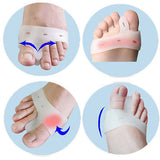 Cerkos Gel Toe Separators Straightener Metatarsal Pad Feet Care - Cerkos  - 4
