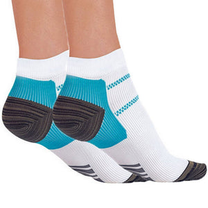 1pair New Miracle Foot Compression Sock Anti-Fatigue Plantar Fasciitis Heel Spurs Pain Sock For Men Women HO602666