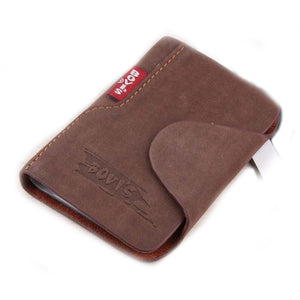 1pc Genuine Leather Business Cards Holder Credit Card Cover Bags Hasp Card Organizer Bags -- BIH003 PM20