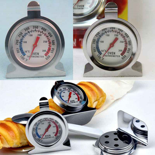 1pcs Food Meat Temperature Stand Up Dial Oven Thermometer Gauge Gage Hot Worldwide