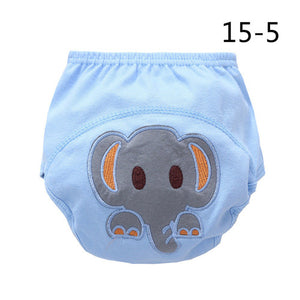 1pcs/lot Diapers baby diaper children's underwear reusable nappies training pants panties for toilet training child a-qdkbl015-1