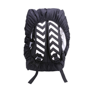 20-45L Unisex Reflective Nylon Rain Dust Waterproof Backpack Bag Cover Shoulder Bag Cover Safety Travel Kits Suit Climbing Bag