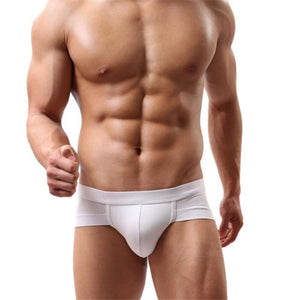 #2001 New Trunks Sexy Underwear Men Men's Boxer Shorts Bulge Pouch soft Underpants Sexy Low Waist 5 Colors High Quality - Cerkos.com