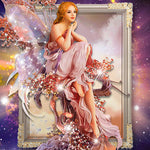 2016 5D DIY diamond Painting Diamond embroidery Cross Stitch angel picture Home Decoration 5D Needlework diamond Mosaic
