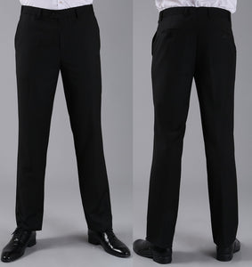 2016 Formal Wedding Men Suit Pants Fashion Slim Fit Casual Brand Business Blazer Straight Dress Trousers H0284