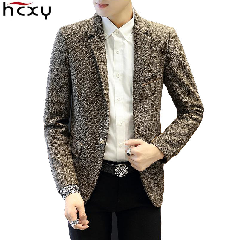 2016 New Arrival Business mens blazer Casual Blazers Men Formal jacket Popular Design Men Dress Suit Jackets