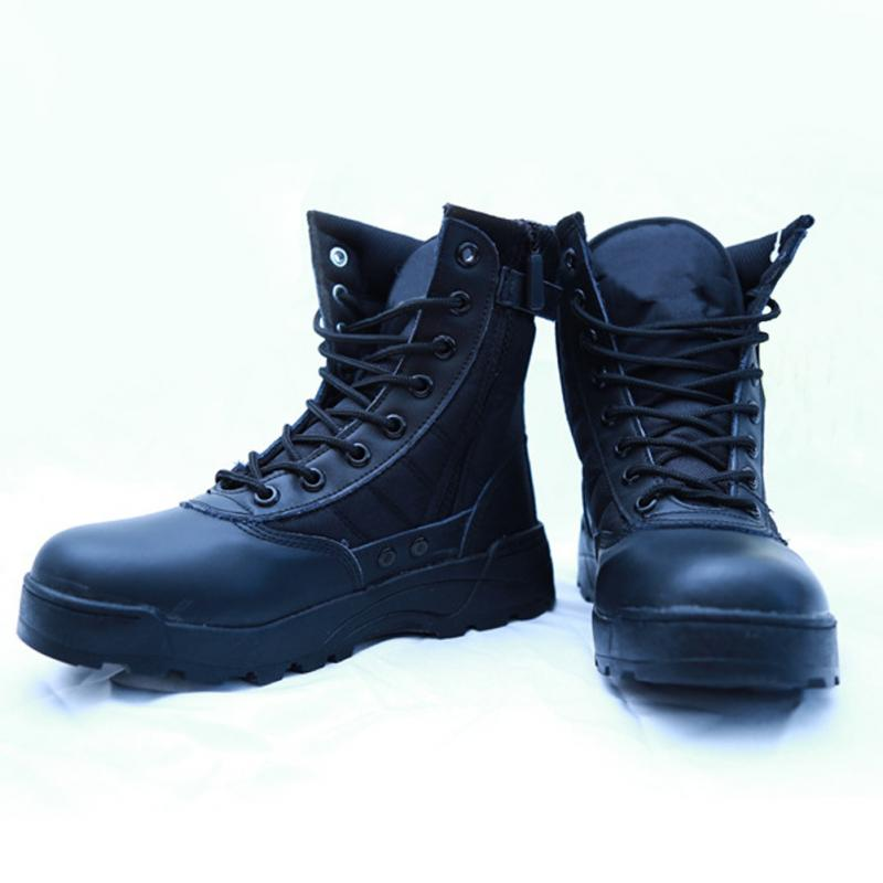 2016 New Brand Fashion Winter Military Special Forces Boots Desert Combat Army Travel Shoes Leather Ankle Male Snow Boots