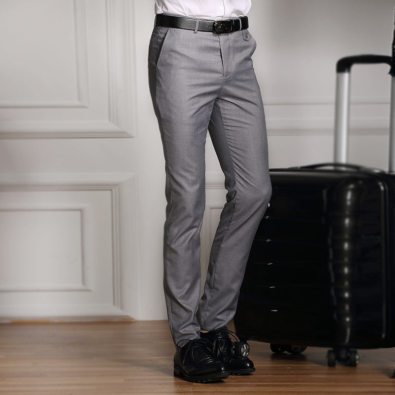 2016 New Formal Wedding Men Suit Pants Fashion Slim Fit Casual Brand Business Blazer Straight Dress Trousers / Male Suit pants