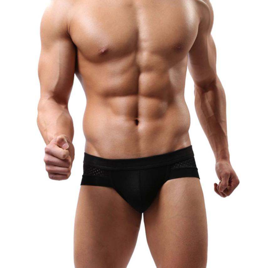 2016 New Hot Selling Mens Underwear Briefs Cotton Low Waist Underpanties For Men Male Panties ropa interior hombre