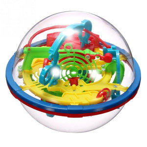 2016 Newest Design 3D Maze Ball Intellect Ball Children\'s Educational Toys Baby Puzzle Toy random color