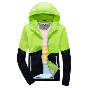 2016 spring new men's jacket sportswear Men Fashion Thin Windbreaker jacket Zipper Coats Outwear men's clothing