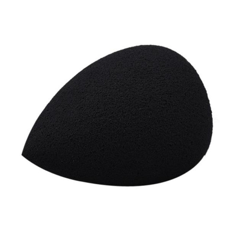 2017 1PCS Water Droplets Make up Foundation Powder Soft Beauty Makeup Sponge Puff Maquiagem Black