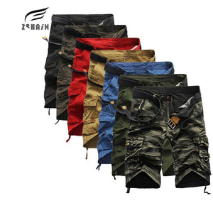 2017 Brand Cargo Shorts Men Quality Sale Casual Camouflage Summer Clothing Cotton Male Fashion Army Work Shorts Men Quick Drying