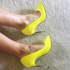 2017 Brand Shoes Woman High Heels Women Pumps Stiletto Thin Heel Women's Shoes Pointed Toe High Heels Wedding Shoes size 35-42