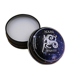 2017 Constellation Zodiac Perfumes Women Men Solid Perfume Deodorant Solid Fragrance