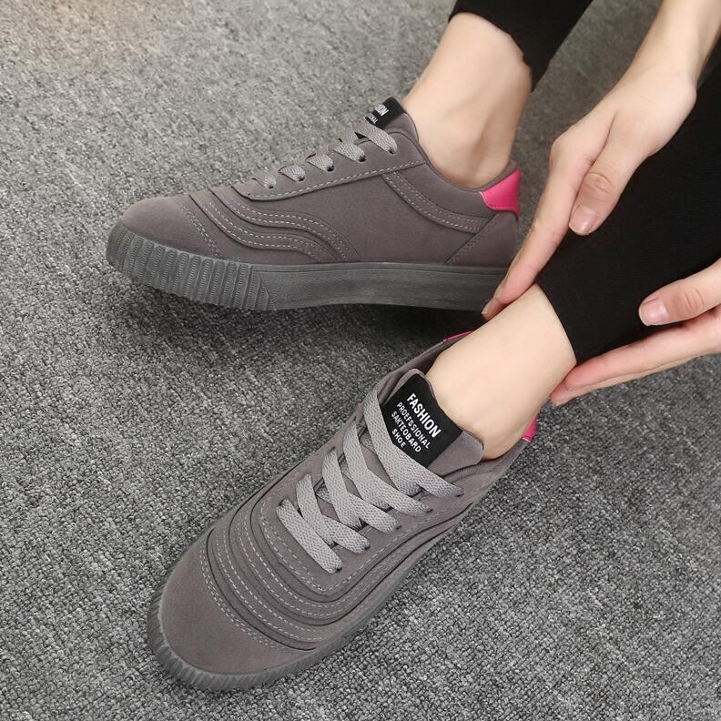 2017 Fashion Flats Women Trainers Sport Woman Shoes Casual Outdoor Walking Women Flats Zapatillas Mujer Size 34-43