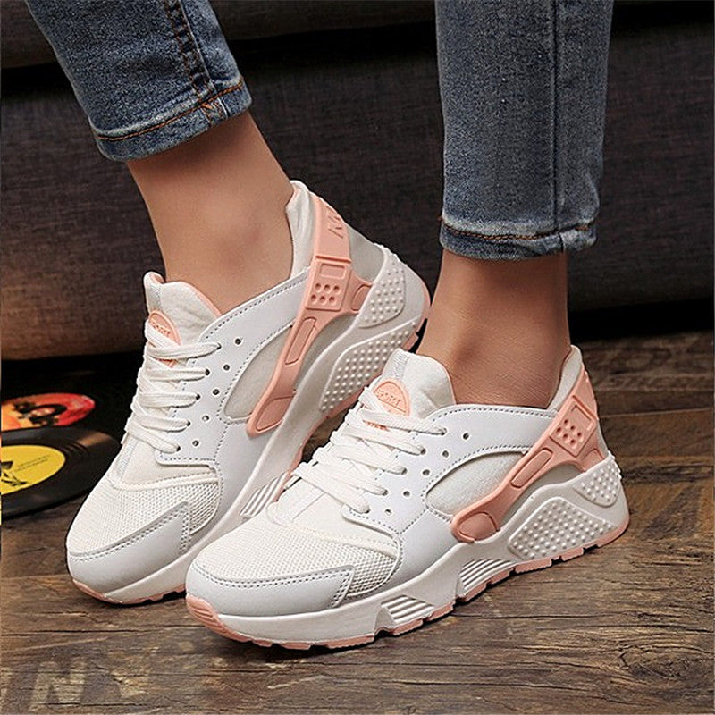 2017 Fashion Trainers Sneakers Women Casual Shoes Air Mesh Grils Wedges Canvas Shoes Woman Tenis Feminino Zapatos Mujer No Logo