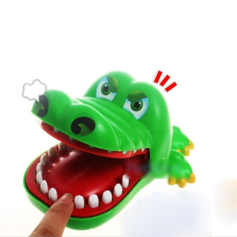 2017 Hot Crocodile Jokes Mouth Dentist Bite Finger Game Joke Fun Funny Crocodile Toy Antistress Gift Kids Child Family Prank Toy