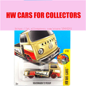 2017 Hot Wheels 1:64 Volkswagen T2 Pickup Metal Diecast Cars Collection Kids Toys Vehicle For Children Juguetes
