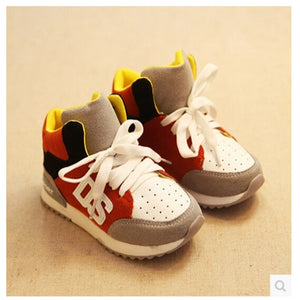 2017 Hot-selling sport shoes running shoes children shoes pedal sneakers boys and girls breathable sneakers