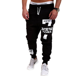 2017 Men Lightweight Gyms Pants Casual Elastic cotton Mens Fitness Workout Pants Letter printing Sweatpants Trousers Jogger Pant