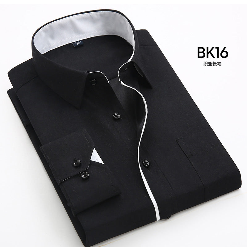 2017 NEW Special sales men's long sleeve dress shirt brand bussines work formal shirts men wedding casual shirt Camisa Masculina