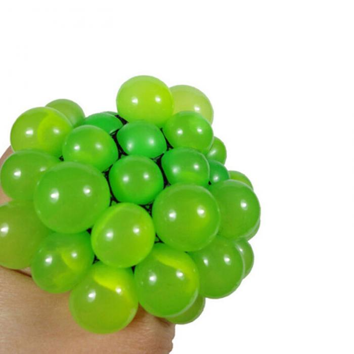 2017 New Anti Stress Ball Novelty Fun Splat Grape Venting Balls Squeeze Stresses Reliever Toy Funny Gadgets Gift YH-17