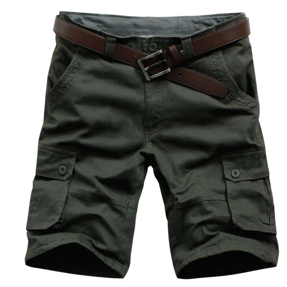 2017 New Arrival High Quality Men Camouflage Cargo Bermuda Casual Shorts Multi Pockets Tactical Military Shorts For Men